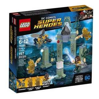Leeogel Lego 76085 DC Justice League Super Heroes Battle of Alantis Aquaman - New In Sealed Box
