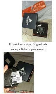 Man watch by eiger original