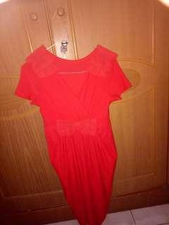 Dress merah #mauthr