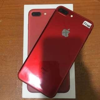 Iphone 7 Plus 128gb Red Ex Ibox Resmi Bisa Tt