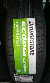 Bridgestone ecopia 175 65 14