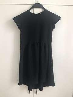 (6-8yrs) Zara Girls 黑色斯文連身裙