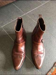 ZARA Authentic mens leather Boots