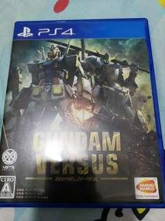 Ps4  game  gundam versus