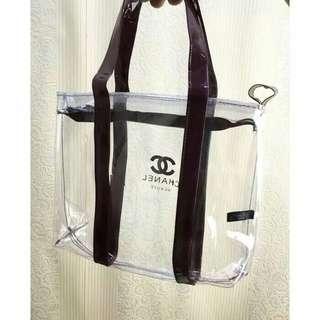 Tote bag Chanel Transparan