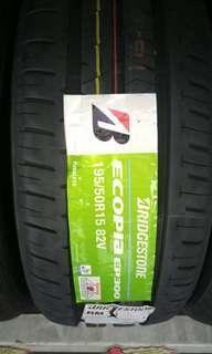 Bridgestone ecopia 195 50 15