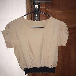 crop top blouse shirt