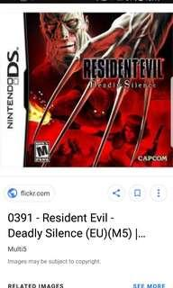 Looking for resident evil deadly silence