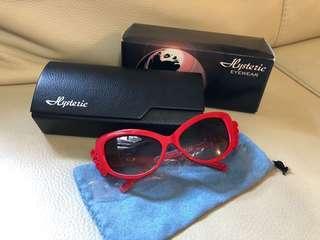 日本製🇯🇵HYSTERIC MINI × DITA KIDS紅色太陽眼鏡