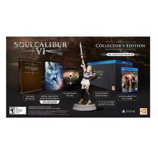 PS4 SOUL CALIBUR VI R3 COLLECTORD EDITION