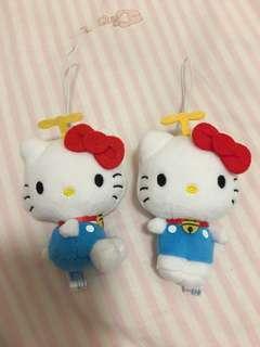 Hello Kittyx叮噹 Set