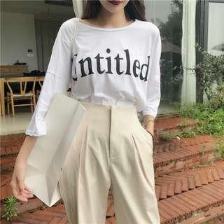 [PO] Casey UNTITLED top // apricot pants
