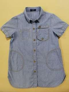 ASTIN Girls Denim Shirt