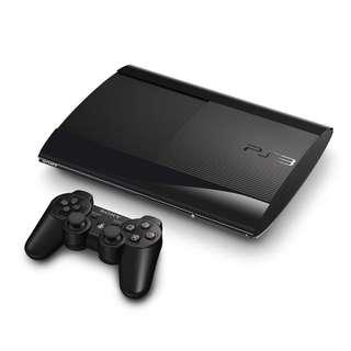 PS3 SUPER SLIM 120GB REFURBISHED SET 4000 MODEL