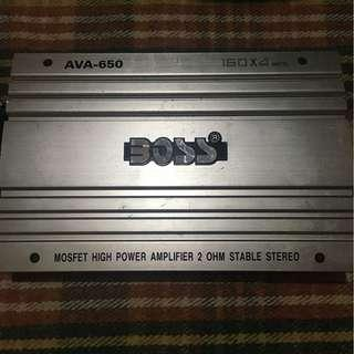 BOSS Car Amplifier