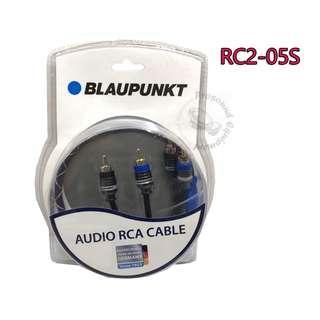 BLAUPUNKT AUDIO RCA CABLE (RC2-05S)