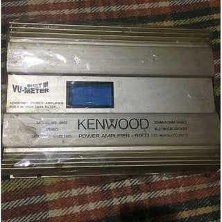 Kenwood Car amplifier