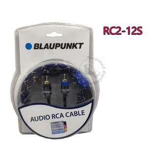 BLAUPUNKT AUDIO RCA CABLE (RC2-12S)