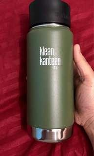 16 oz Moss Green Klean Kanteen (matte)