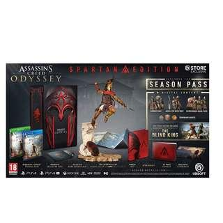 PS4 ASSASSINS CREED ODYSSEY SPARTAN EDITION R3
