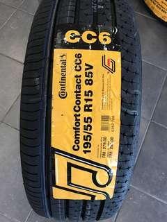 Continental CC6 195 55 15