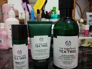 TEA TREE BODY SHOP TONER LOTION