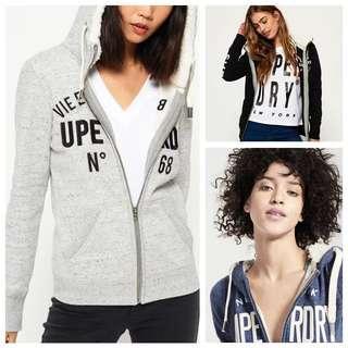 Superdry zipped hoodie jacket