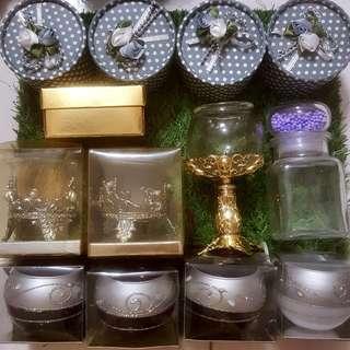 Candle Holder | Glass Jar | Box
