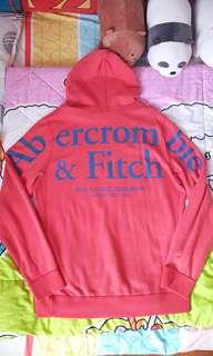 Brand New Abercrombie And Fitch Red Pullover Hoodie.