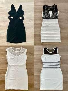 Black / White Dresses