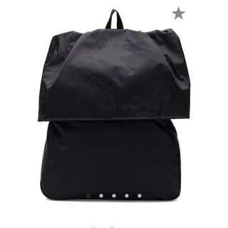 Eastpak X Raf Simons Brand New Female/Male Unisex Black Backpack 全新中性(男裝/女裝)型格黑色背包