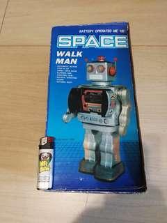 Space walk man