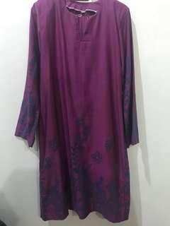 (FREE POSTAGE) Baju Kurung Moden Purple 🔥