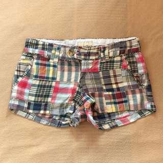 Checkered Short