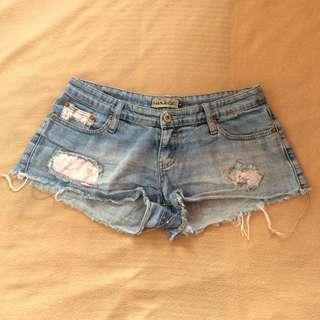 Wakee Denim Short