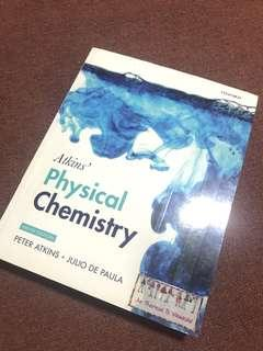 Atkins' Physical Chemistry Book