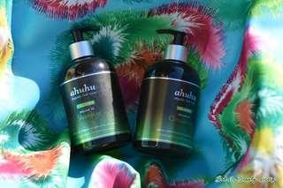 Ahuhu Organic HairCare Collagen Shampoo & Conditioner BN