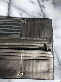 Black Mimco wallet