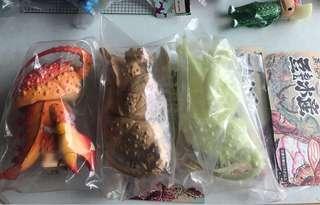 3隻大豆芽水產 sofubi