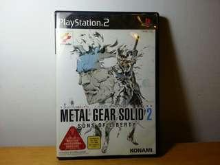 PlayStation 2  METAL GEAR SOLID 2