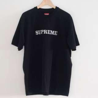 Supreme Floral Logo Tee Black L