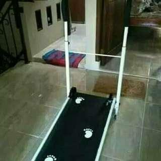 Alat olahraga treadmill mini murah