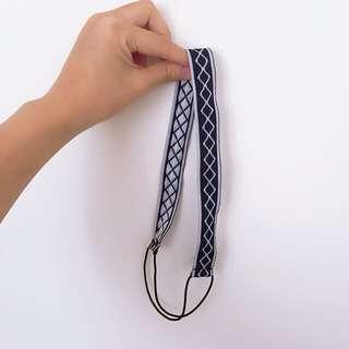 民族風編織鬆緊髮帶