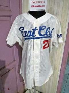 Baju base ball east club no 21