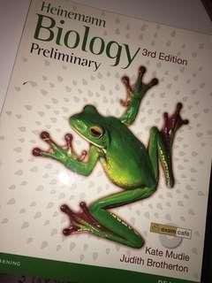 Heinemann Biology Preliminary Textbook