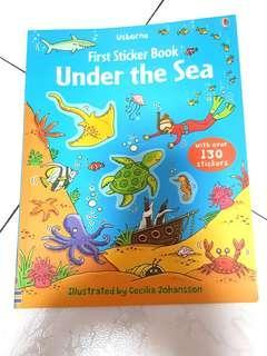 Under the Sea sticker book