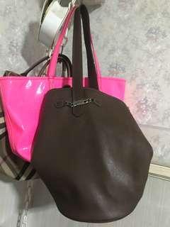 Brown Esprit Bucket Bag