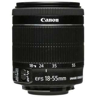 Repair autofocus canon Lens 18-55MM / Lens error
