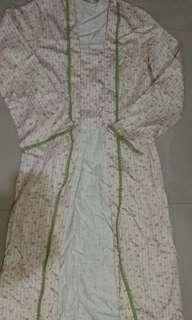 Kebaya batik kutubaru panjang merk Alun alun indonesia ukuran M