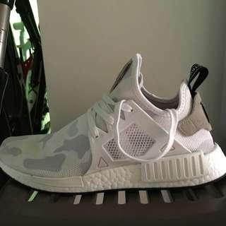 Adidas NMD XR1 WHITE CAMO US 9.5